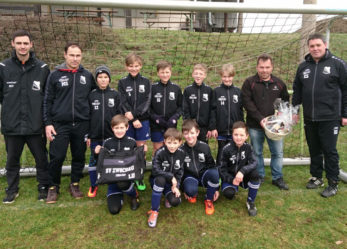 E-Jugend gewinnt beim TSV Rackwitz