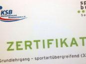 Übungsleiter-Grundlehrgang in Zwochau
