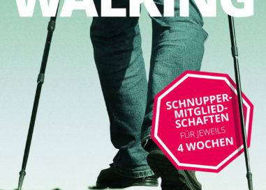 Die Abteilung Nordic Walking sucht neue Mitglieder…